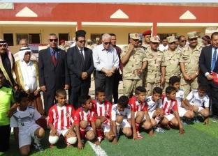 """محافظ جنوب سيناء وقائد قوات شرق القناة يفتتحان مدرسة في """"وادي فيران"""""""