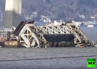 بالفيديو| تفجير جسر عمره 74 سنة في أمريكا