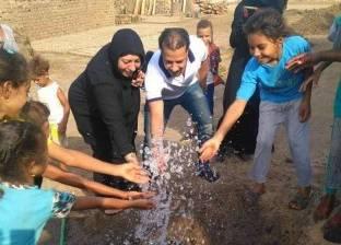 """""""ميدان الجنوب"""" توصل المياه لـ30 أسرة من الأكثر احتياجا في الأقصر"""