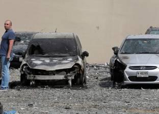 بالفيديو| شاهد شاحنة تدهس 44 سيارة بسبب الشبورة