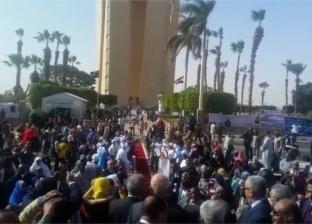انطلاق فعاليات احتفالات أسوان بعيدها القومي