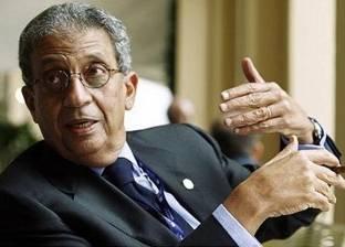 """عمرو موسى لـ""""الوطن"""": التعاون بين مصر وفرنسا مستمر بعد فوز ماكرون"""