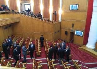 صور| رئيس الدستورية يتابع اخر استعدادات المحكمة لاستضافة ممثلي 45 دولة