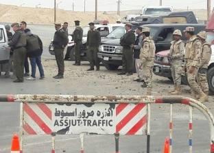 بالصور| القوات المسلحة تواصل حملاتها الأمنية بأسيوط
