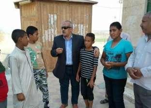 رئيس مدينة سفاجا يتفقد المدارس والوحدة الصحية لقرية أم الحويطات