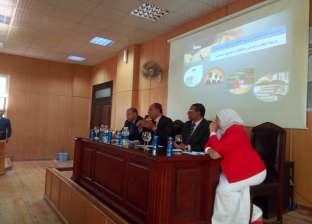 """""""إعلام بني سويف"""" تنظم ندوة انتصارات الدولة المصرية وآثارها على الأمن"""