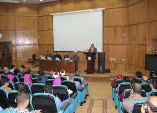 بالصور| رئيس جامعة كفرالشيخ: يجب على رجال الدين تنقية الأفكار المغلوطة