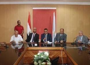 رئيس «شؤون البيئة» يتفقد مراكز قش الأرز بكفر الشيخ
