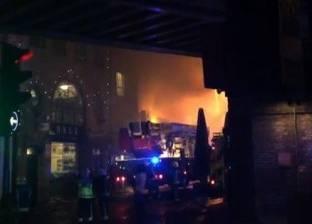 """وزير البترول يتابع حادث حريق """"سيدبك"""" بالإسكندرية"""
