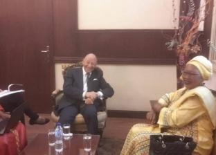 """وفد """"الإفريقية لحقوق الإنسان"""" يزور المجلس القومي المصري"""