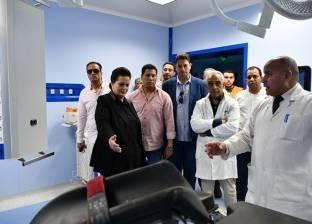 محافظ البحيرة تتفقد التجهيزات النهائية بالمبنى التخصصي بمستشفى دمنهور