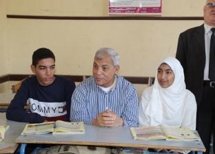 بالصور| محافظ المنوفية يتفقد عددا من المدارس والمخابز