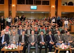 """""""التطور التكنولوجي والتنمية الإدارية"""".. جلسة بمؤتمر حقوق المنصورة"""