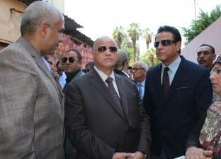 بالصور| محافظ القاهرة: إزالة العقارات المخالفة دون استثناء