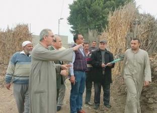 الثعابين تعود لقويسنا من جديد.. إصابة فلاح بلدغ ثعبان في قرية ميت برة