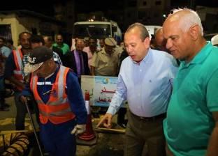 بالصور| محافظ كفر الشيخ يطلق حملة لصيانة وتطهير شبكات الصرف الصحي