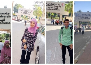 """استقبال حافل في طب إسكندرية لـ""""بائع الفريسكا وزملاؤه"""": طلاب يشرفوا بلد"""