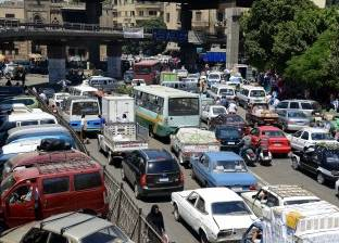"""""""الوطن"""" تنشر الحالة المرورية في القاهرة:  معدلات سير متوسطة على الطرق"""