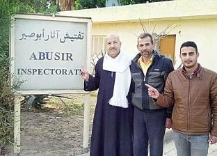 حملة لإعادة افتتاح أهرامات «أبوصير»