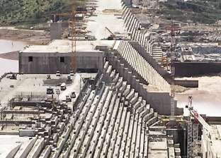 انتهاء بناء 63% من سد النهضة