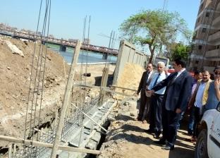محافظ القليوبية يوجه بسرعة الانتهاء من الممشى النهري بكورنيش بنها