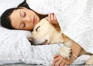 دراسة: النساء يفضلن النوم بجانب الحيوانات الأليفة على الرجال