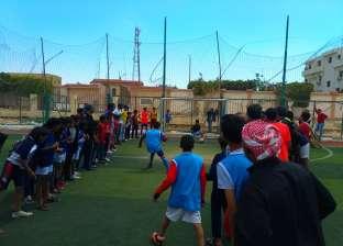 """فوز فريق مدرسة الزعيم """"السادات"""" ببطولة دوري مدارس طور سيناء"""