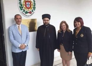 المدبر البطريركي للكلدان يزور سفارة البرتغال