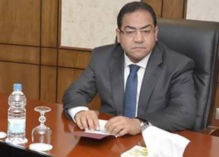 صالح الشيخ يتفقد مبنى الجهاز المركزي للتنظيم والإدارة بالعاصمة الجديدة