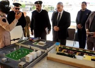 مدير أمن المنيا يتفقد مركز تدريب الشرطة ويشدد على حسن معاملة المواطنين