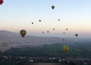 للاستمتاع بالمعالم الأثرية.. 13 رحلة بالون تحلق في سماء الأقصر