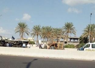 إصابة 24 موظفا في انقلاب أتوبيس بطريق الكافوري غرب الإسكندرية