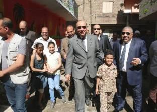 محافظ القاهرة يشيد بتجربة سكان المطرية عقب تجميل شوارعهم