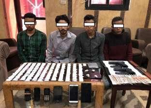 القبض على تشكيل عصابي يروج الهيروين بين طلاب جامعة أسيوط