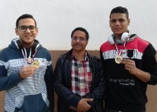 """""""تعليم أسيوط"""" تحصد المراكز الأولى بمعرض مصر للعلوم والهندسة الجمهوري"""