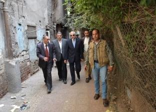 محافظ الجيزة يتابع أعمال رفع المخلفات ويرصد 5 بؤر للقمامة