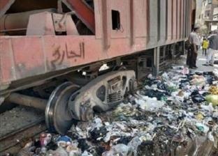 مصادر: خروج 4 عربات من قطار بضائع عن القضبان في إمبابة.. ولا إصابات