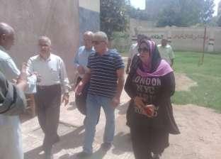 رئيس مدينة اشمون يتفقد عدد من الوحدات المحلية والمدارس