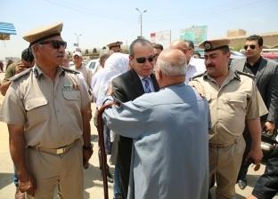 بالصور  محافظ كفر الشيخ يكلف بحل مشكلات أهالي حي القنطرة