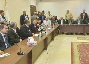 """""""أبوستيت"""" ومحافظبني سويف يتفقدان عددا من المشروعات الزراعية والبحثية"""