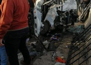 """مصرع شخص وإصابة 3 آخرين في انقلاب سيارة على طريق """"العاشر - بلبيس"""""""