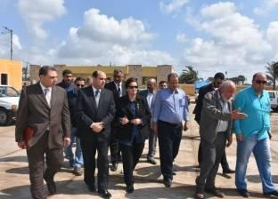 خط إنتاج جديد بمصنع تدوير المخلفات الصلبة في إدكو بالبحيرة