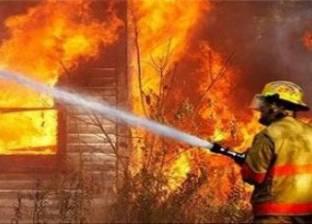 السيطرة على حريق التهم 5 أحواش في سوهاج