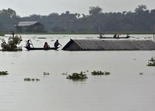 """صور.. فيضانات في جنوب آسيا تسفر عن 78 قتيلا وتهدد """"وحيد القرن"""""""