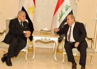 محلب: الشركات المصرية مستعدة للمشاركة في إعادة إعمار العراق