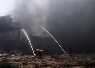 """""""الحماية المدنية"""" تسيطر على حريق بمخلفات القمامة غرب الإسكندرية"""