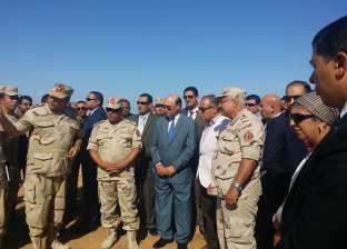 """مميش يسلم """"شرق بورسعيد"""" المرحلة الأولى للمنطقة الصناعية"""