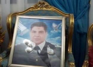 زوجة شهيد كرداسة: «طلبت منه يسيب مكانه قال لى: مش عامر اللى يخاف من شوية إرهابيين»