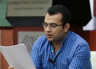 """الخميس.. محمد أبو زيد يوقع روايته الجديدة """"عنكبوت في القلب"""""""