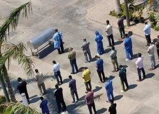 طبيب وقاية عن حضور صلاة الجنازة خارج المسجد: العزاء بالإشارة
